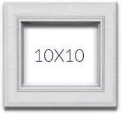 Fotolijsten van 10x10 cm