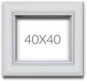 Fotolijsten 40x40