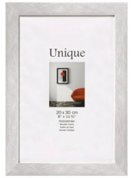 Houten fotokader Unique5 30x45 Zilver
