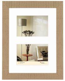 Fotolijst Home 2x10x15 beige bruin
