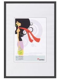 Kunststof Fotokader New Lifestyle A2 (42x59,4) Zwart