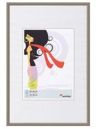 Kunststof Fotokader New Lifestyle A2 (42x59,4) Staal