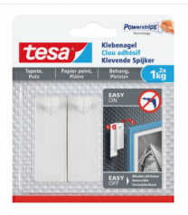 TESA Klevende Spijker voor behang & pleisterwerk 2x 1kg